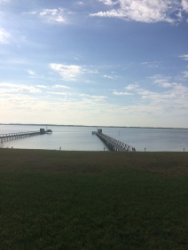 Pier looking out to Baffin Bay.